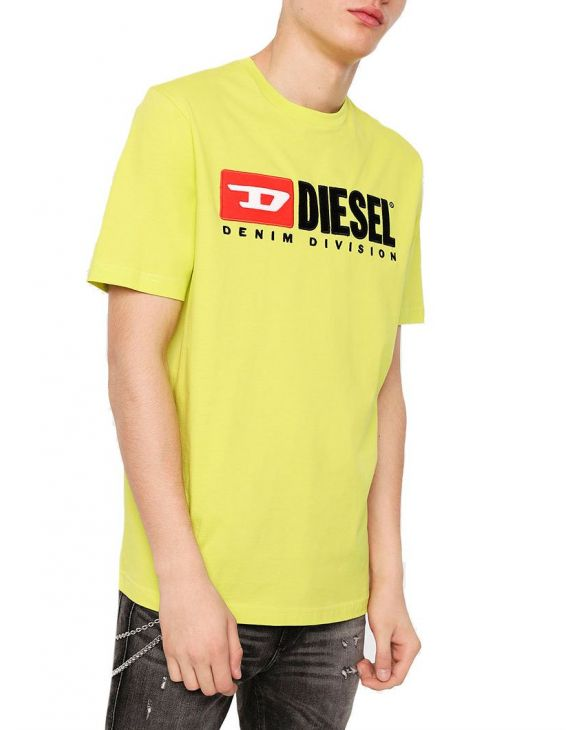 T-JUST-DIVISION T-SHIRT GIALLA