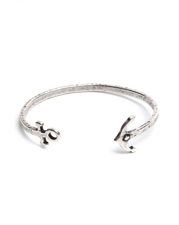 ANCHOR BRACCIALE IN ARGENTO