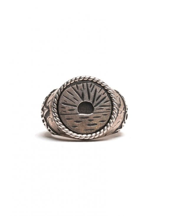 D'AMICO SUNRISE RING IN SILBER