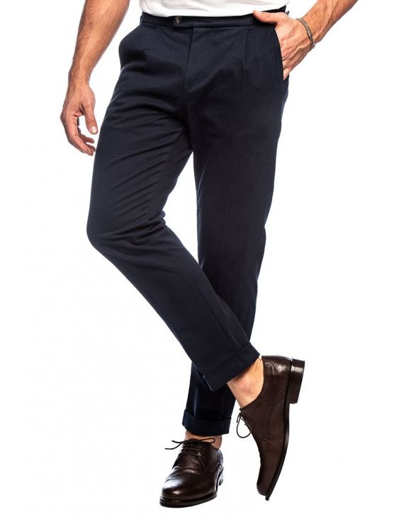 ESMOND PANTALON FORMAL EN AZUL