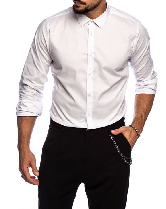 QUIN FORMAL SHIRT IN WHITE
