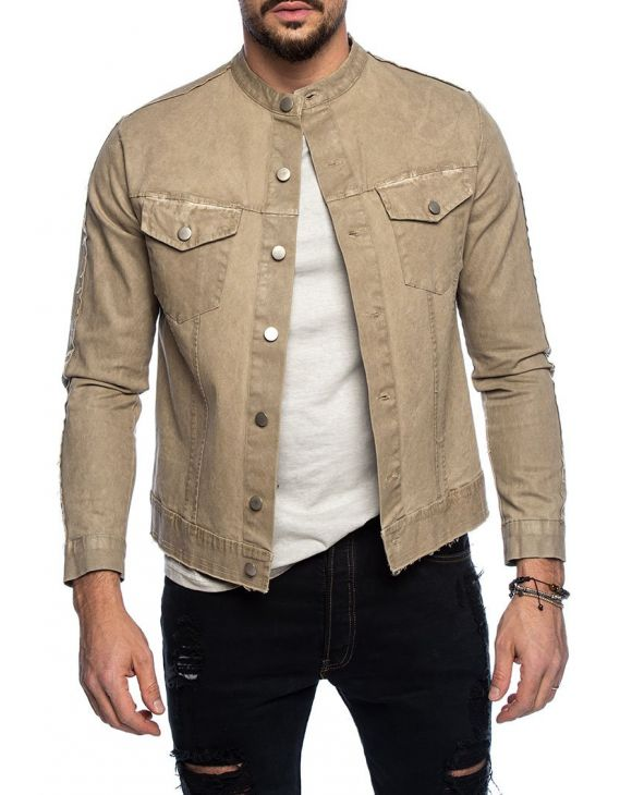 LOUIS JACKET IN SAND