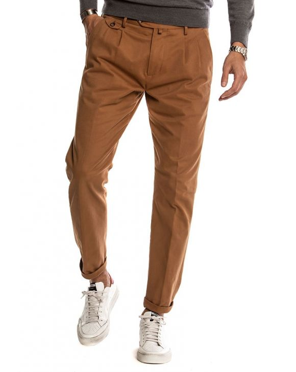 CLARK PANTALON EN MARRON CLAIR