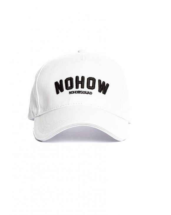NOHOW CAP IN WHITE