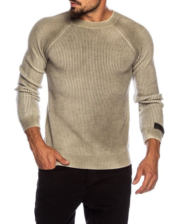 CURT WOOL SWEATER IN GREEN