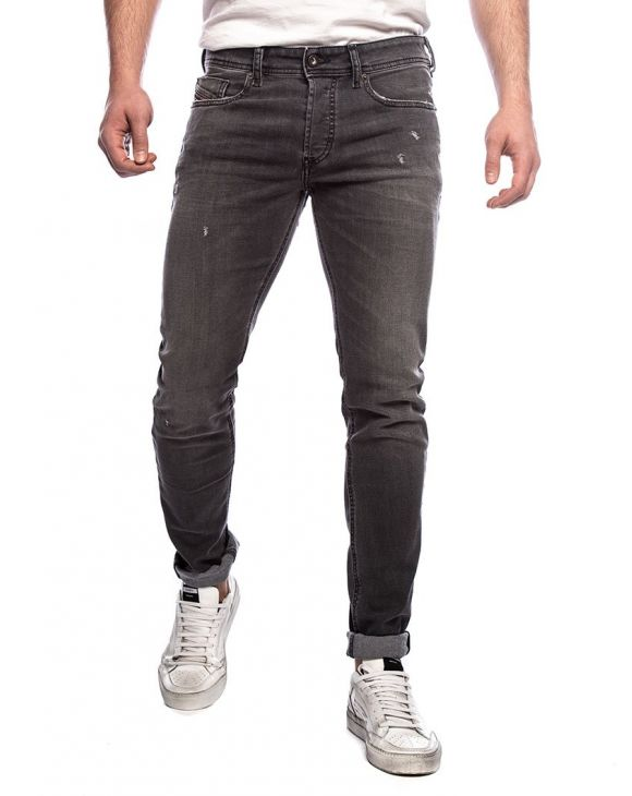 SLEENKER-X L.32 STRAIGHT JEANS IN BLACK