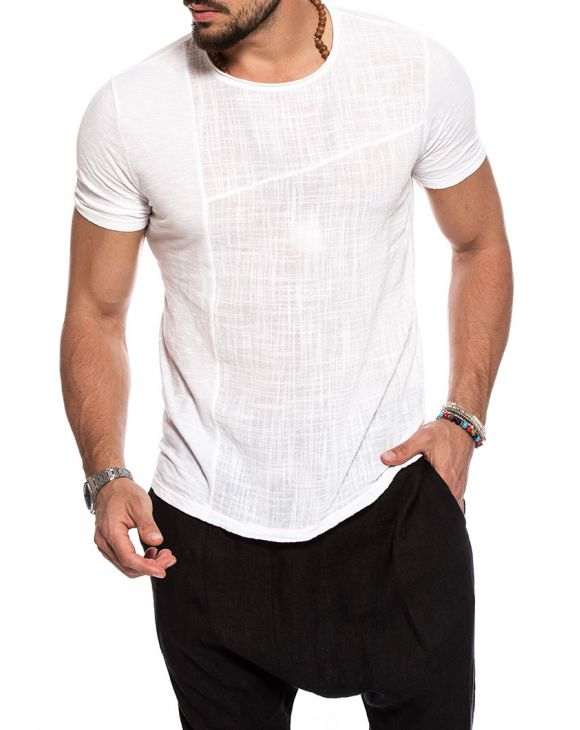 BARRY T-SHIRT EN BLANC