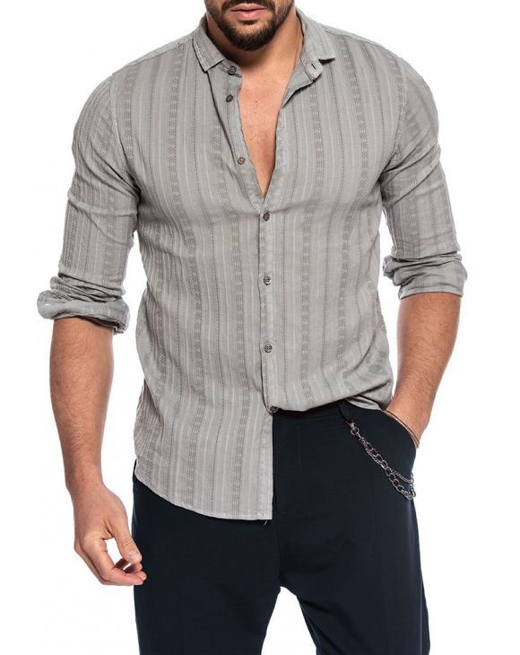 FARREL CASUAL SHIRT IN GREY