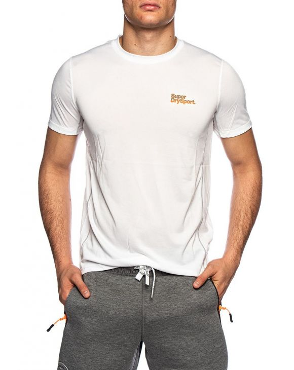 ACTIVE TRAINING S/S T-SHIRT EN BLANC