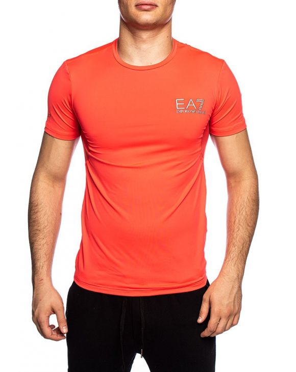 EA7 T-SHIRT EN ROUGE