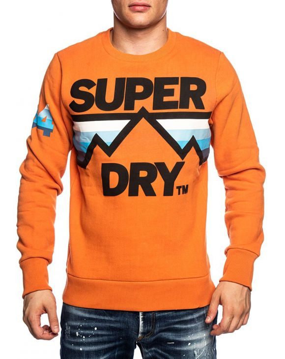DOWNHILL SWEAT-SHIRT EN ORANGE