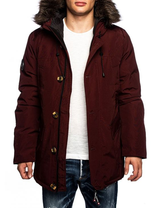 ROOKIE PARKA EN BORDEAUX