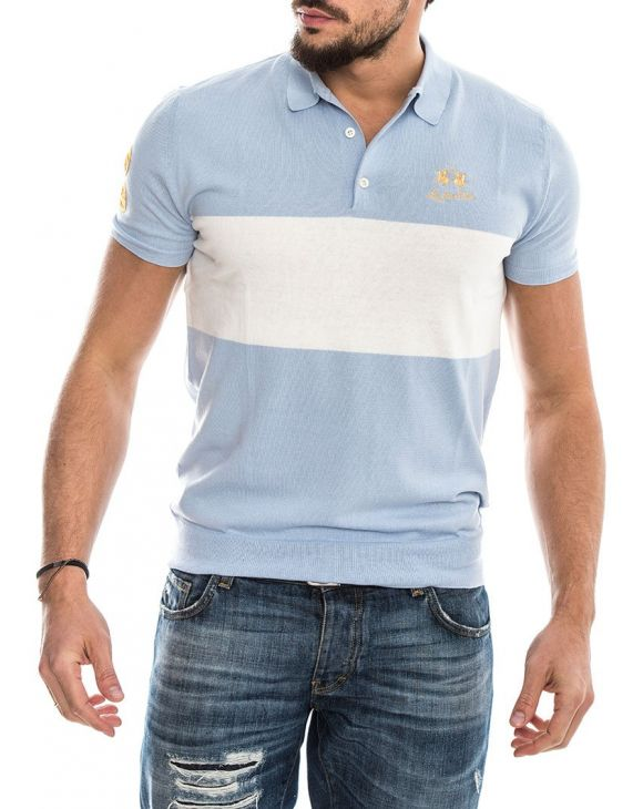 MAN SWATER BLUE BELL POLO
