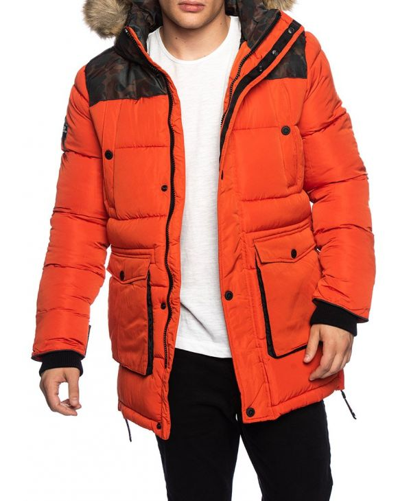 SD EXPLORER PARKA EN ORANGE