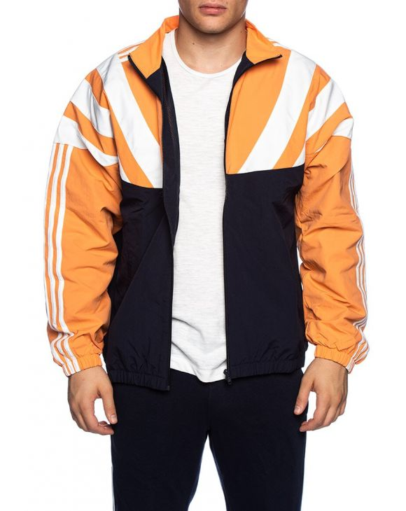 BLNT 96 TT JACKETS IN BLACK ORANGE