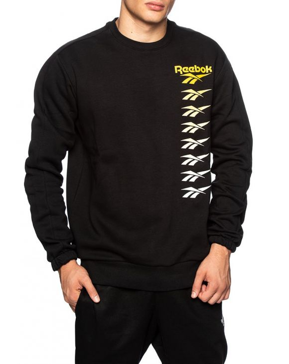 CL VP CREW SWEATSHIRT IN BLACK