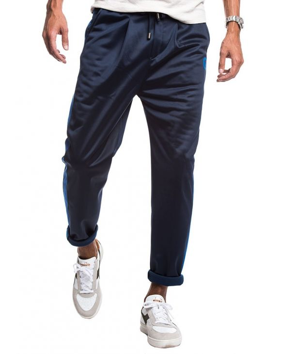 TECH PANTALONI SPORTIVI IN BLU E BLU ROYAL