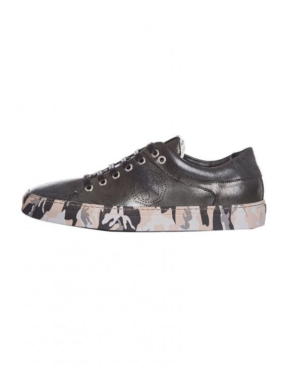 SCARPE MERCURY CAMO F.DO IN NERO
