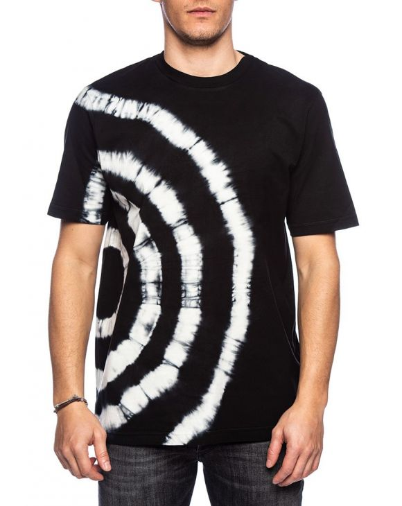 T-JUST T-SHIRT NERA CON STAMPA