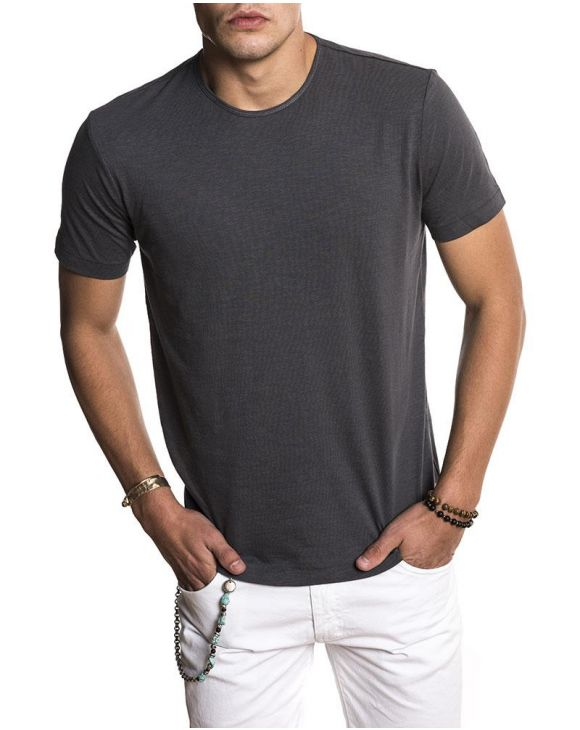 BASIC DARK GREY T-SHIRT
