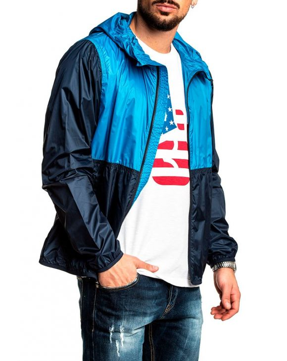 SOUTH BAY WINDBREAKER IN MEDITERRANEAN BLUE