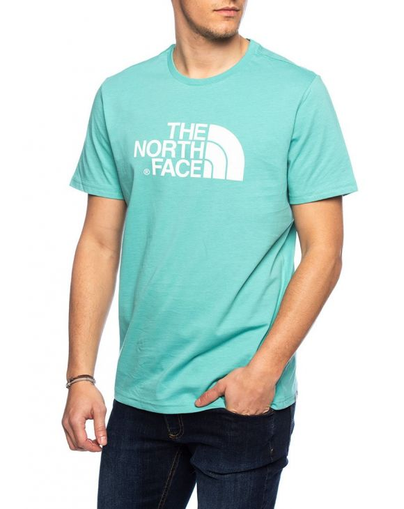 S/S EASY T-SHIRT IN GREEN LAGOON