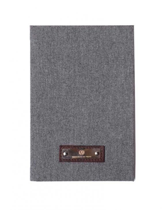 GREY FLANNEL LINED MEDIUM NOTEBOOK