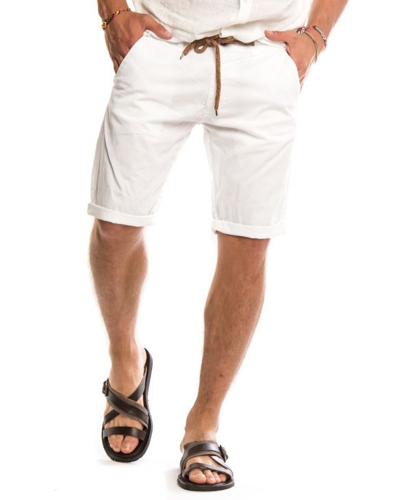 DAREN SHORTS IN WHITE
