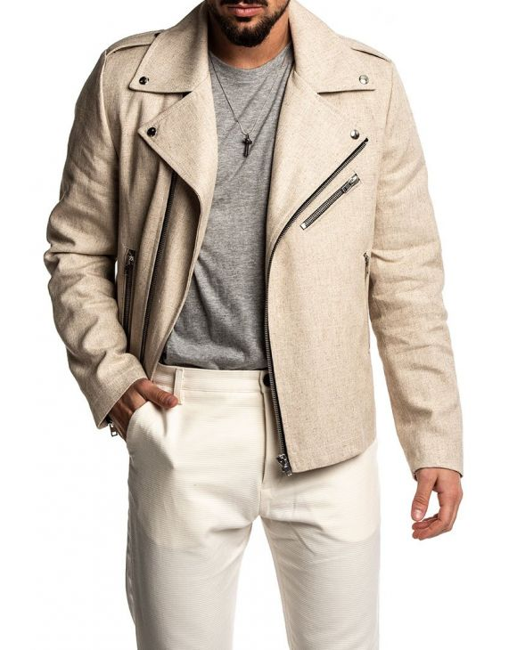 NEW ARIETE JACKET IN BEIGE