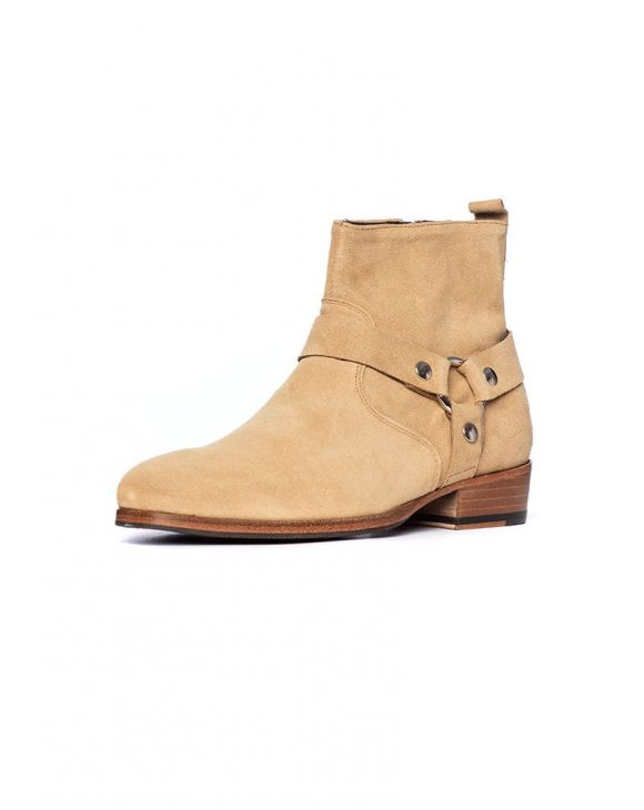 WESTON STIEFEL IN BEIGE