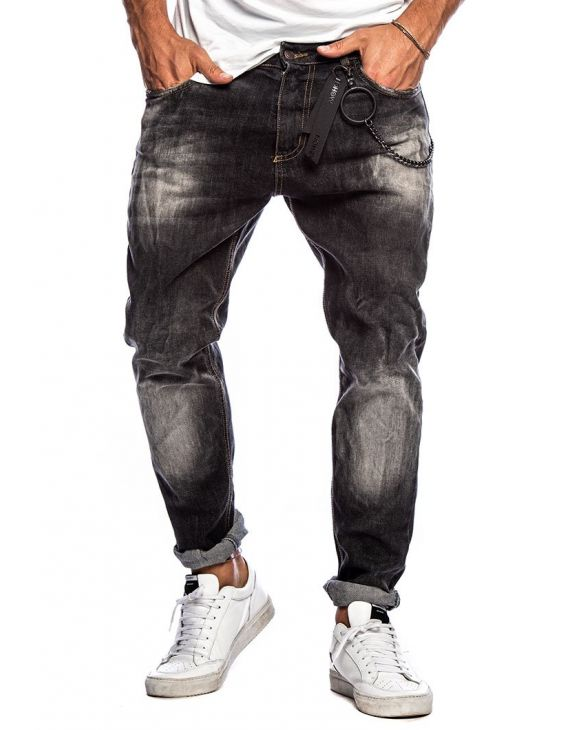 DAVOS STRAIGHT JEANS IN DENIM