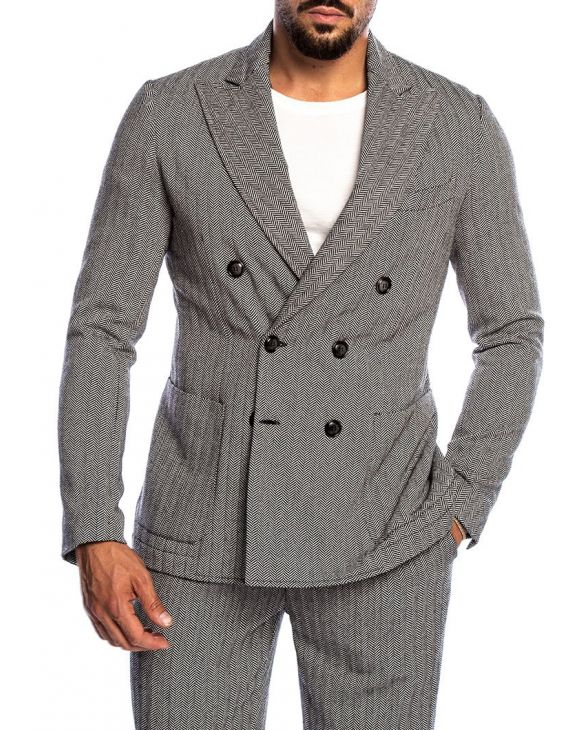 CONNOR BLAZER DOPPIOPETTO MULTICOLORE