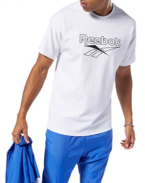 REEBOK OVER TEE IN WHITE